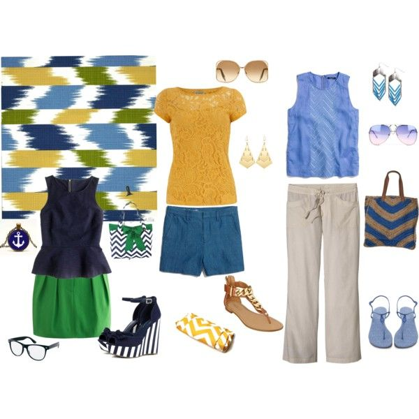 """""""Chic Chevron"""" by amy-hurst on Polyvore"""