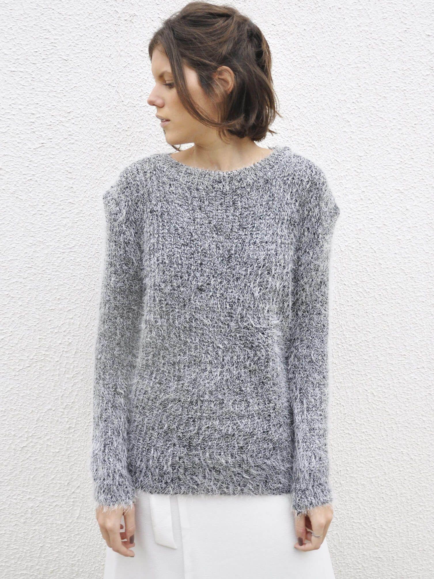 d7ed99920 Suéter Felpudo Simples - Blusa feito em acrílico macio e felpudo ...