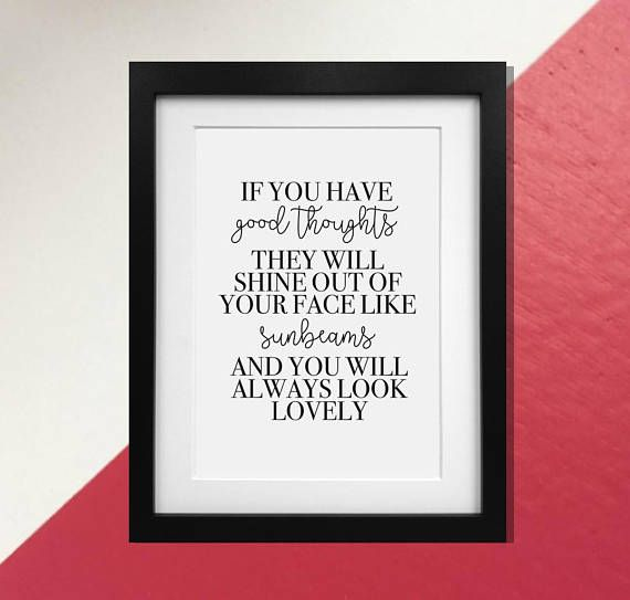 Sq Quote Gorgeous Roald Dahl Quote Print Poster If You Have Good  900 Sq Ft . Inspiration