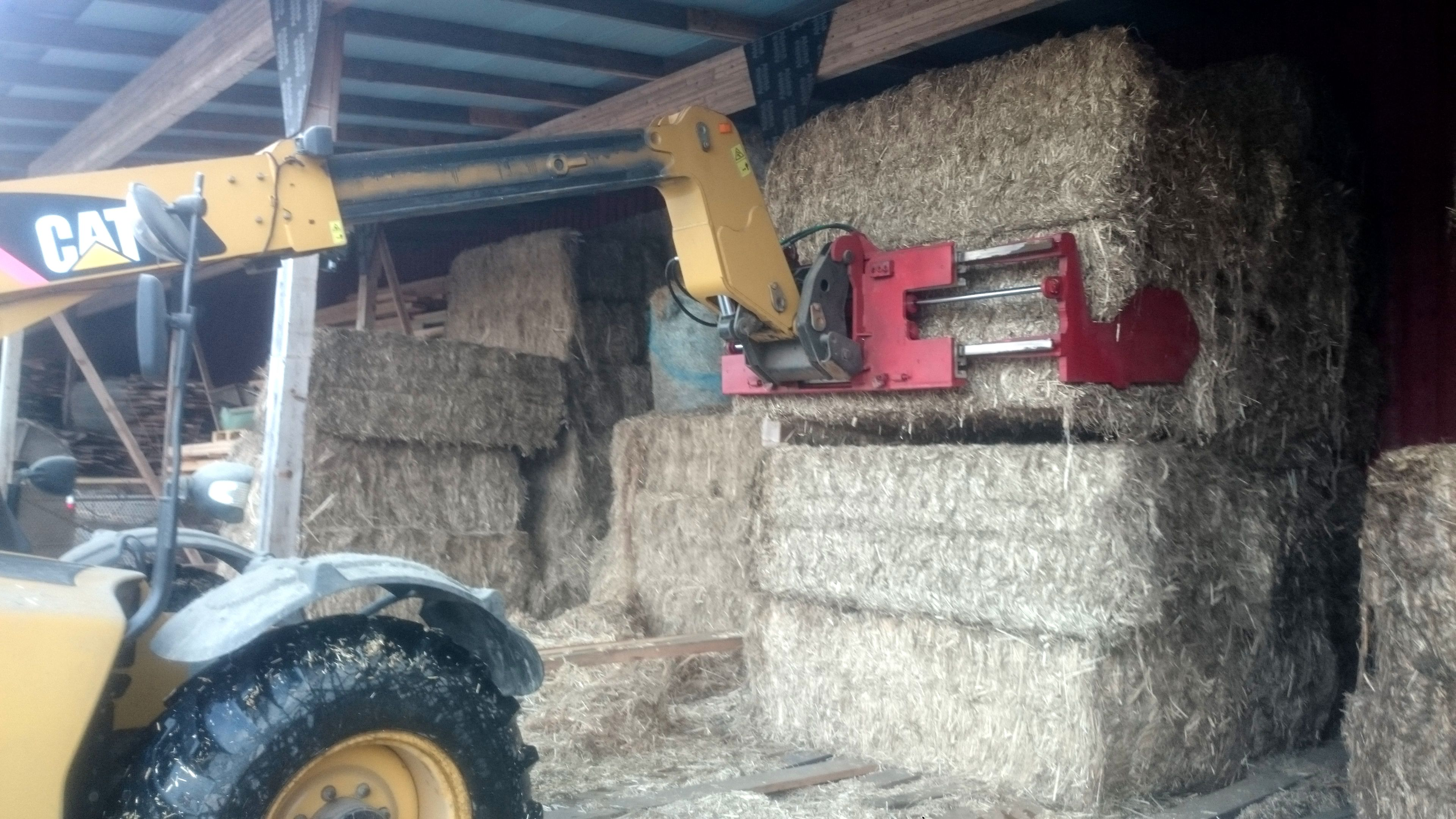 Hemp bales should always be kept under the roof  Tarpaulins