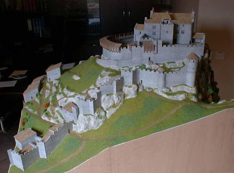 La Maquette Du Chateau De Crussol Inspirational Pictures