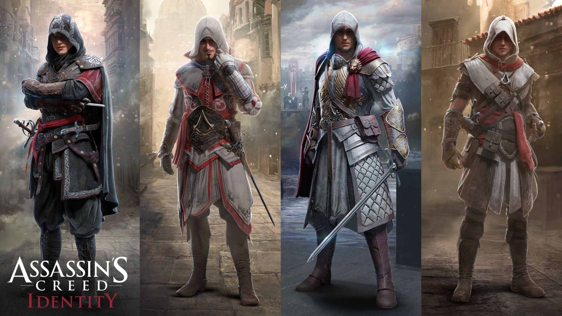 1920x1080 Assassins Creed Identity game wallpaper