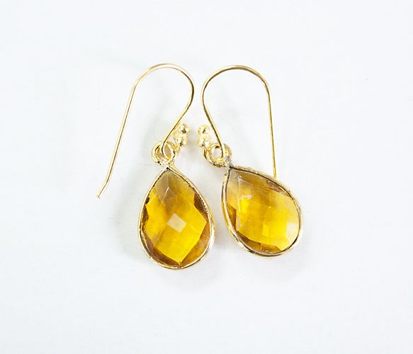 Small Stone Earrings