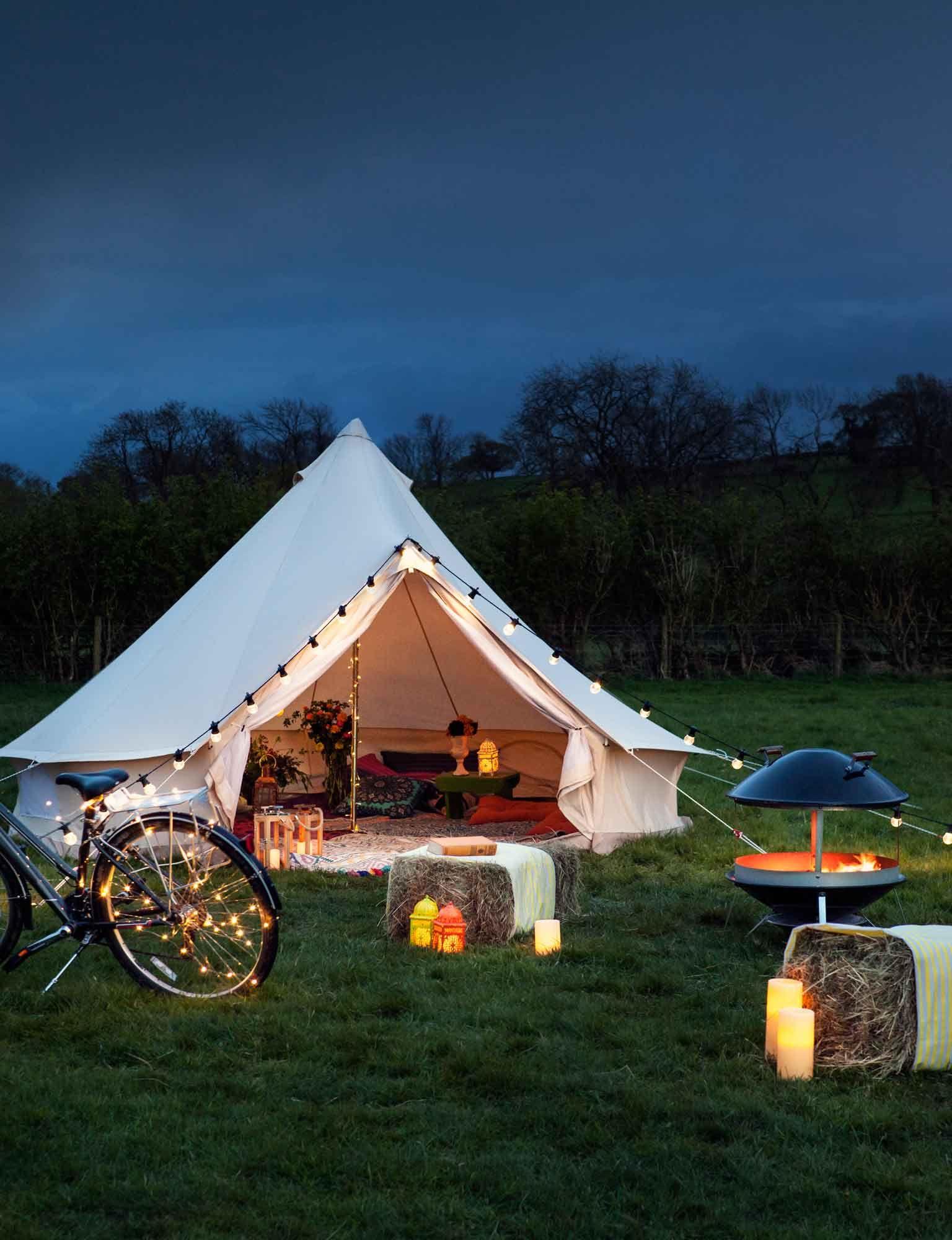Camping Tent Ideas Cedar Trees A
