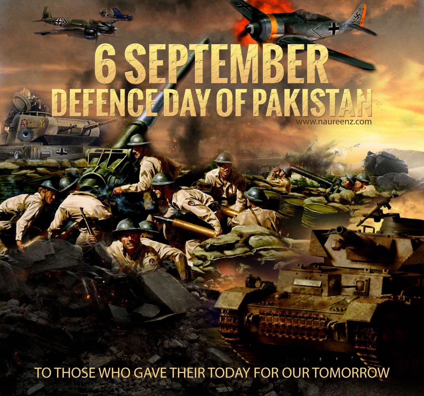 Defense Day Is Celebrated On 6th September Every Year In