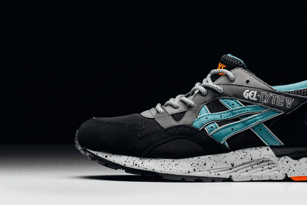 ASICS expands its fall collection by introducing a new iteration of the  favoured silhouette, the GEL-Lyte V in Latigo Bay blue.