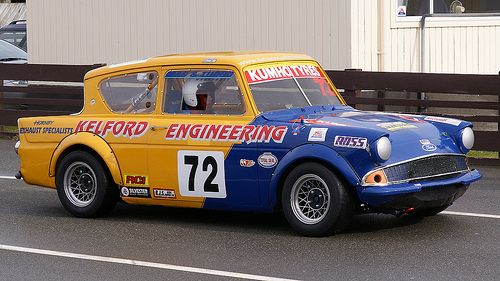 Ford Anglia Classic Race Car Ford Anglia Classic Race Cars