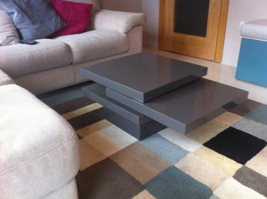 Multi Configuration Rotating Coffee Table Coffee Table Ikea Coffee Table