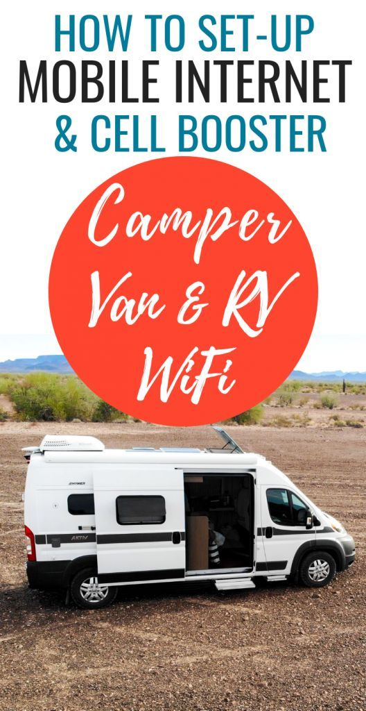 Photo of Camper Van WiFi & Mobile Internet On The Road As A Digital Nomad | Story Chasing