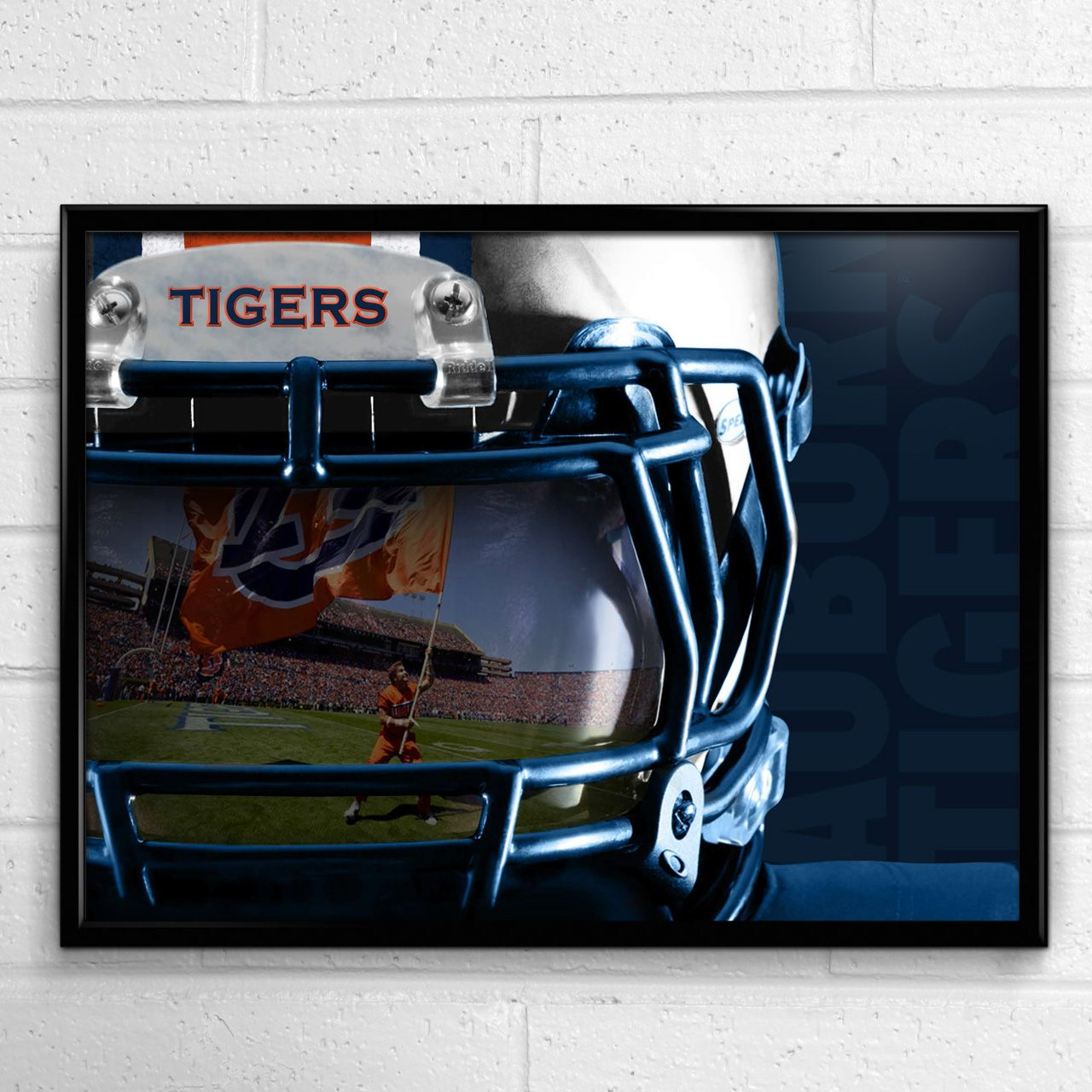 The Team Spirit Store is the official online source for the Auburn Tigers Reflection poster and other authentic Auburn merchandise and game day gear