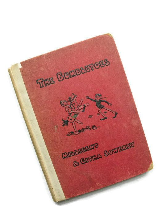 The Bumbletoes Millicent Githa Sowerby Antique Book By Sfuso Antique Books Vintage Ephemera Vintage Postcards