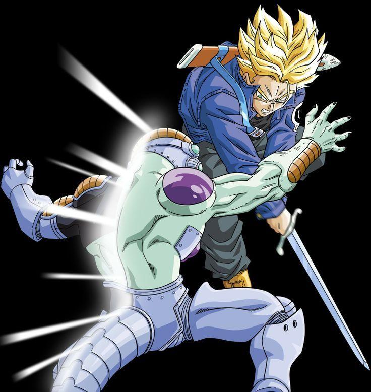 Freezer Vs Trunks Personajes De Dragon Ball Dragones Dragon Ball