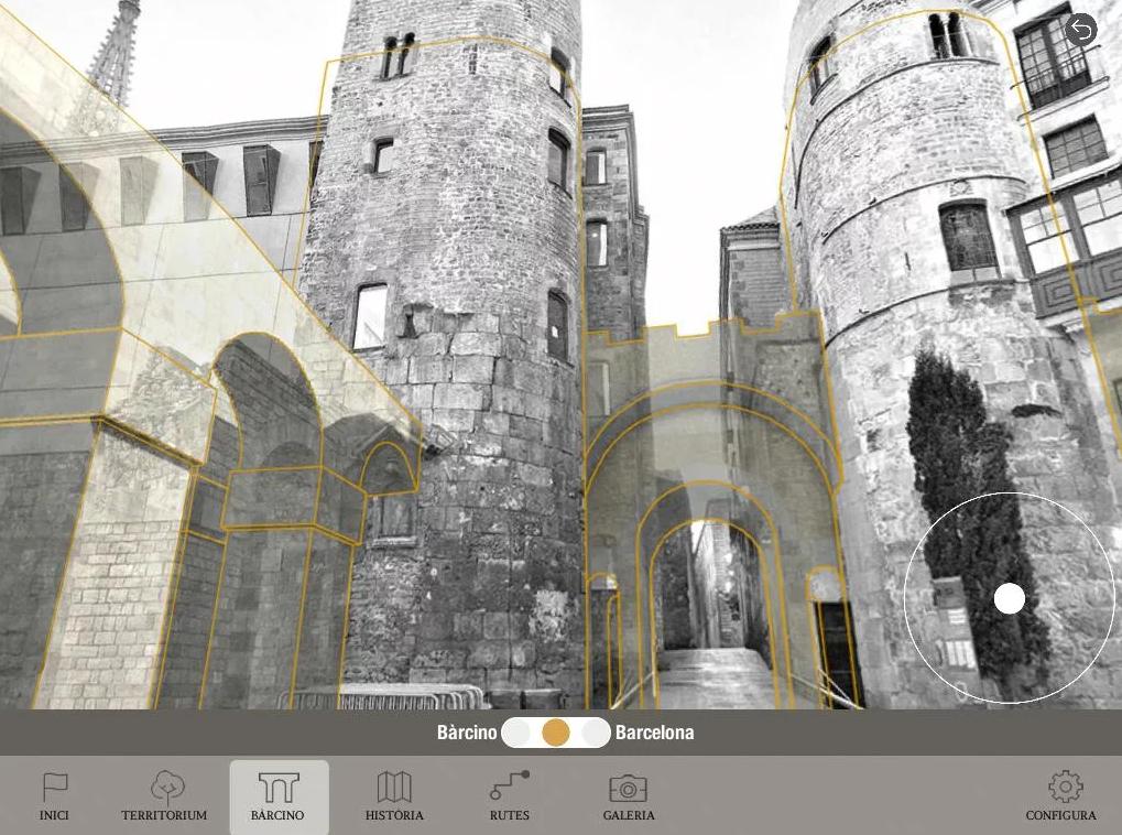 Crea y aprende con Laura: App Bàrcino 3D  Descubre la Barcelona
