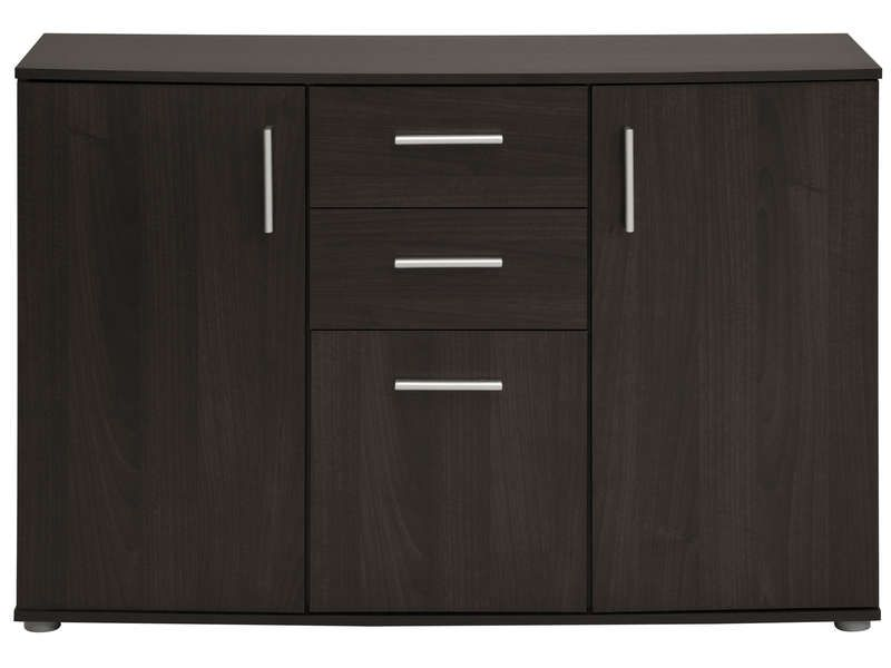 rangement 3 portes 2 tiroirs salto vente de buffet bahut vaisselier conforama meubles. Black Bedroom Furniture Sets. Home Design Ideas