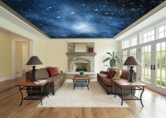 Peel Stick Wallpaper On The Ceiling Eclectic Twist Wallpaper Ceiling Peel And Stick Wallpaper Ceiling Murals