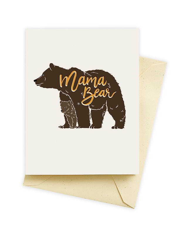 Mama bear card seltzer goods 395 mom friend gifts pinterest unique greeting cards paper goods and gifts m4hsunfo