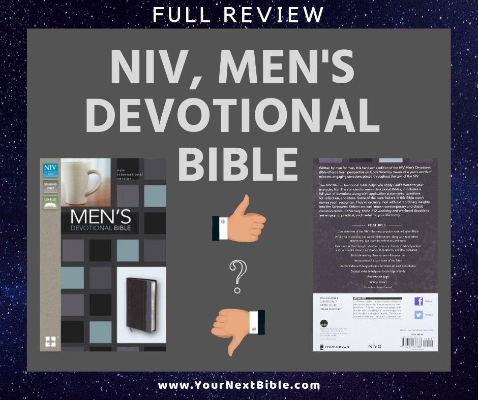 7 Best Bibles for Men Detailed Reviews Life