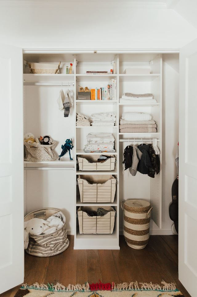 Genial A Touch Of Whimsy For Fashion Blogger Alicia Lundu0027s New Nursery #closet. We  Helped