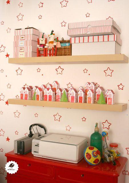 milanesa estudio. Calendario de adviento.  Star Wallpaper - studio - christmas calendar - #calendaradvent,   #homework, #homestudio, #wallpaper , #redstar