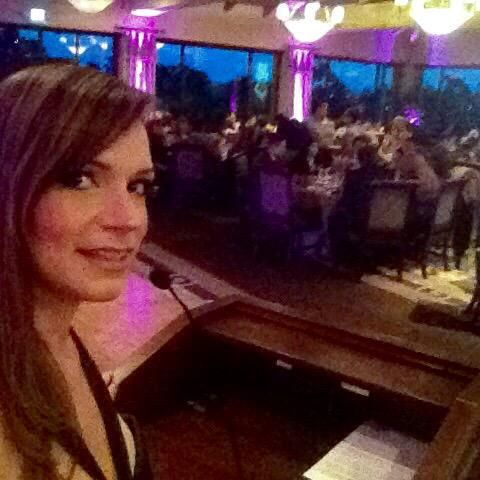 Damas de San Diego Gala - about to start the program #emcee http://happylifeandstyle.com/damas-de-san-diego-gala-helping-others/