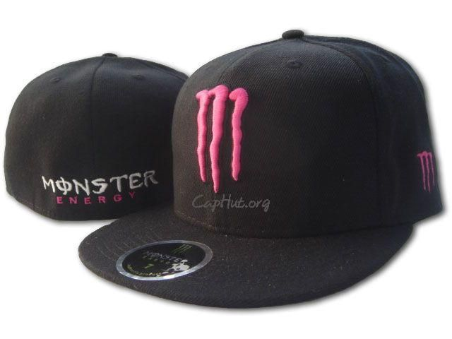 pink n black monster energy hat!!  0f7cbc5d30b8