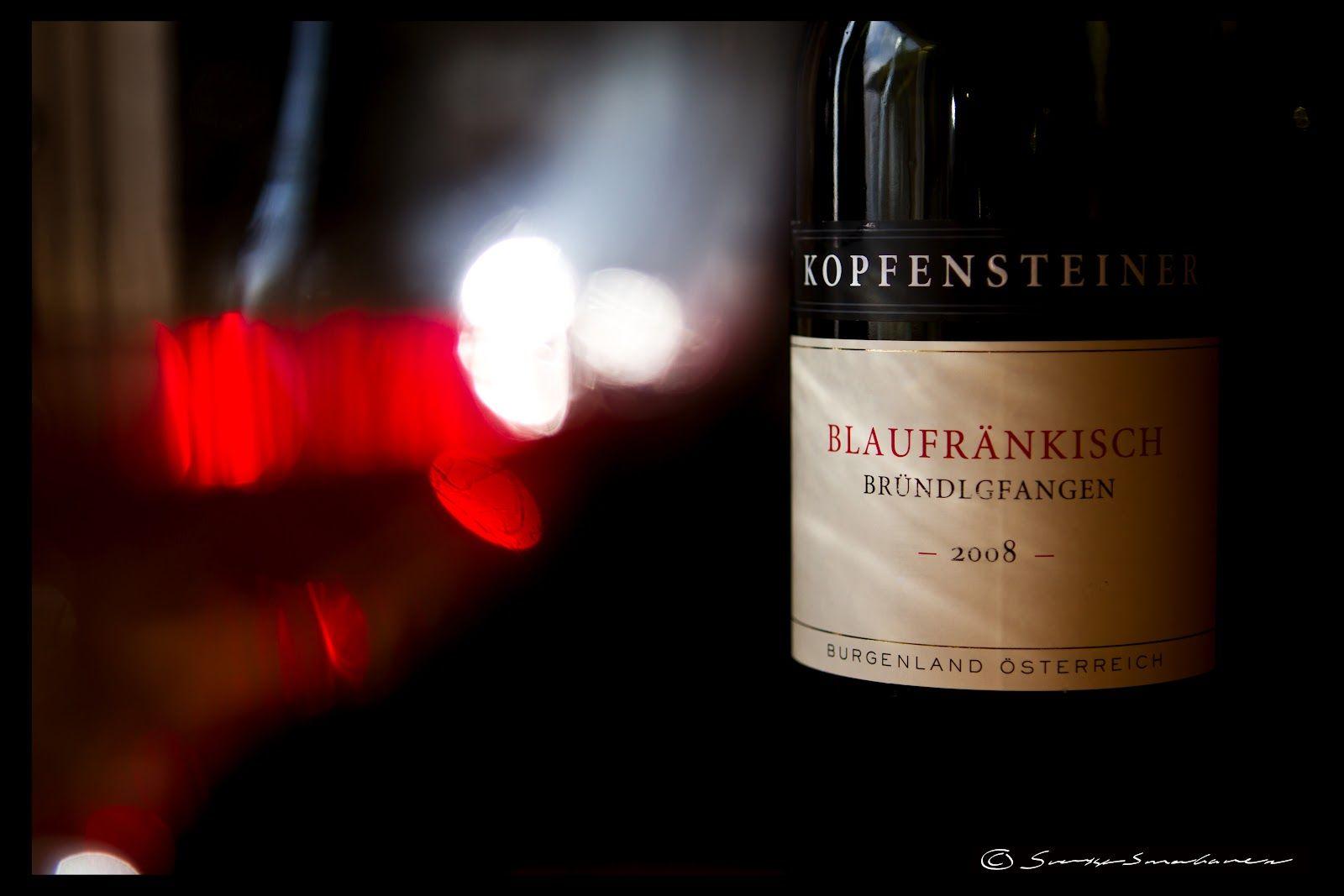 Kopfensteiner Blaufrankisch 2007 Its On Kanske Vin Finnar Linda