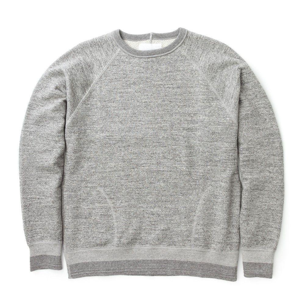Nanamica Crew Neck Sweat Heather Grey Nanamica Brands Crew Neck Mens Outfits Heather Grey [ 1000 x 1000 Pixel ]