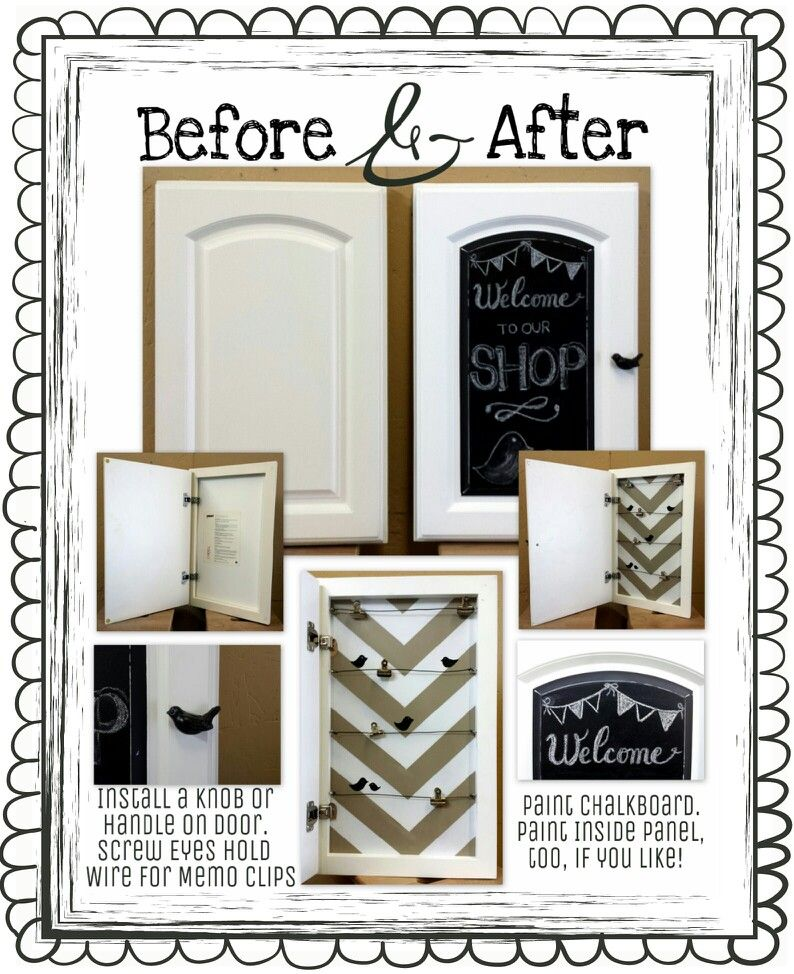 Repurpose A Cabinet Door Sample Frame Available At Most