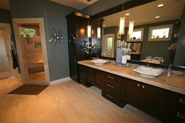 wall color for master? goes well with travertine