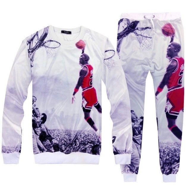 969df3421897f 2PC 3D Jordan Sweatsuit. Only XL Available.