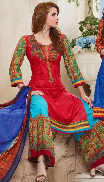 Ravishing Red Palazzo Suit https://www.ethanica.com ...