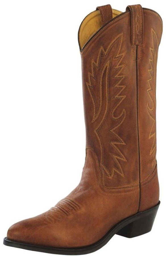 3f85df82fd7 Old West Tan Canyon Mens Polanil Leather Round Toe 13