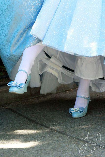 All sizes | Costume Detail: Cinderella, via Flickr.