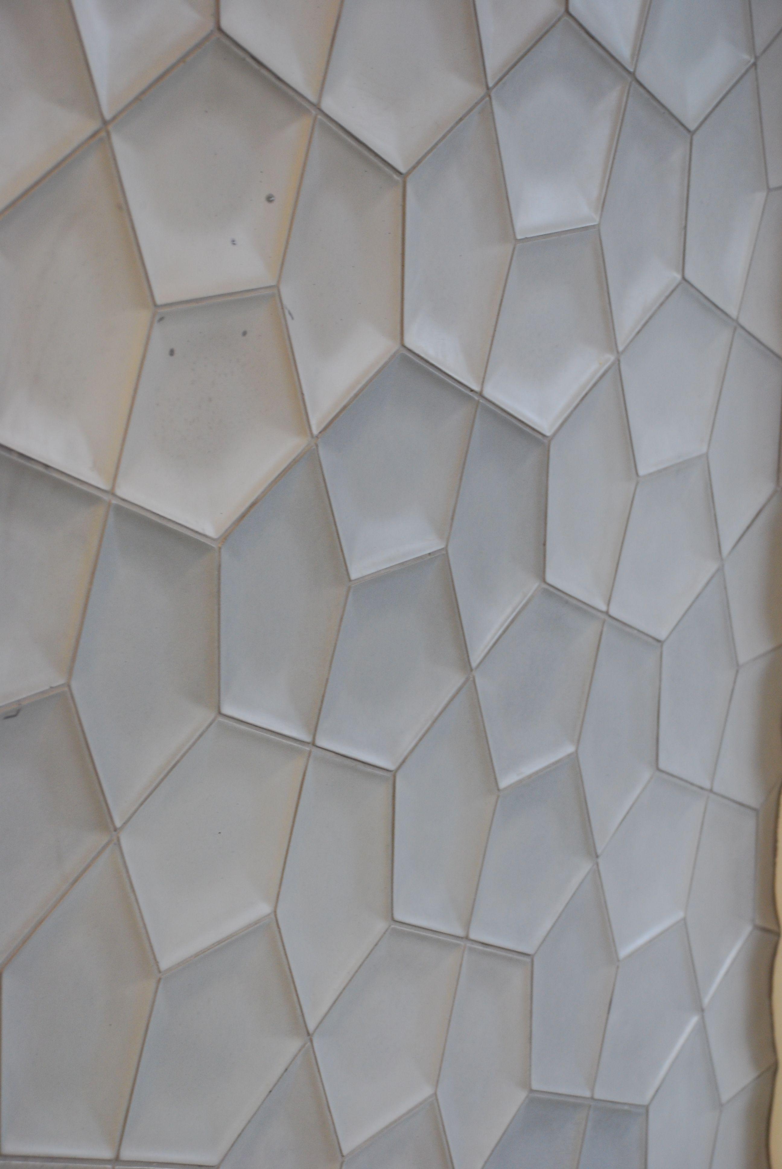 Concrete Tiles Pental Tiles Three Dimensional Space Tiles Geometric Pattern 3d Tiles