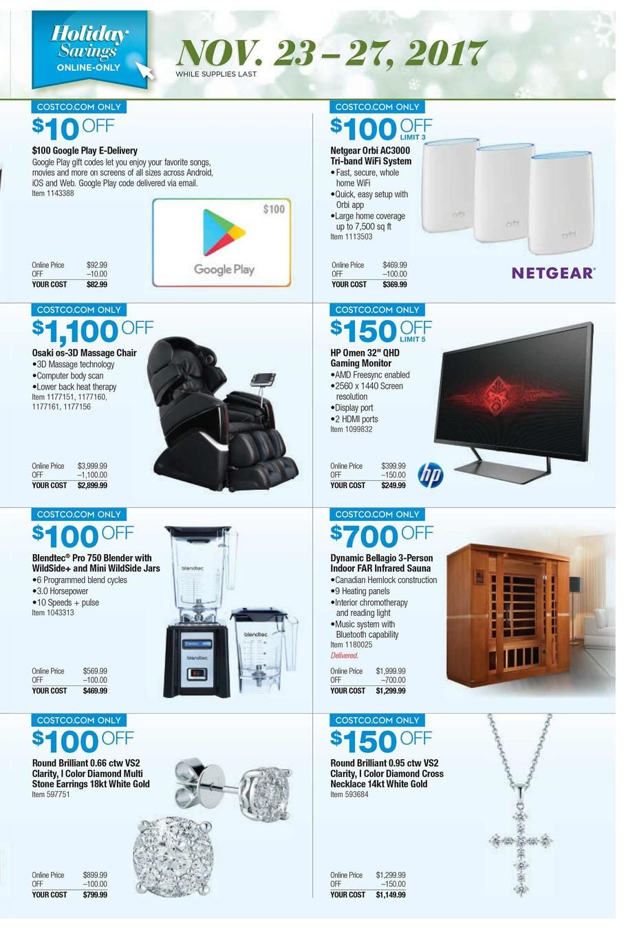 Costco Black Friday 2018 Ads And Deals Browse The Costco Black Friday 2018 Ad Scan And The Complete Product By Product Sales Black Friday Black Friday Ads Ads