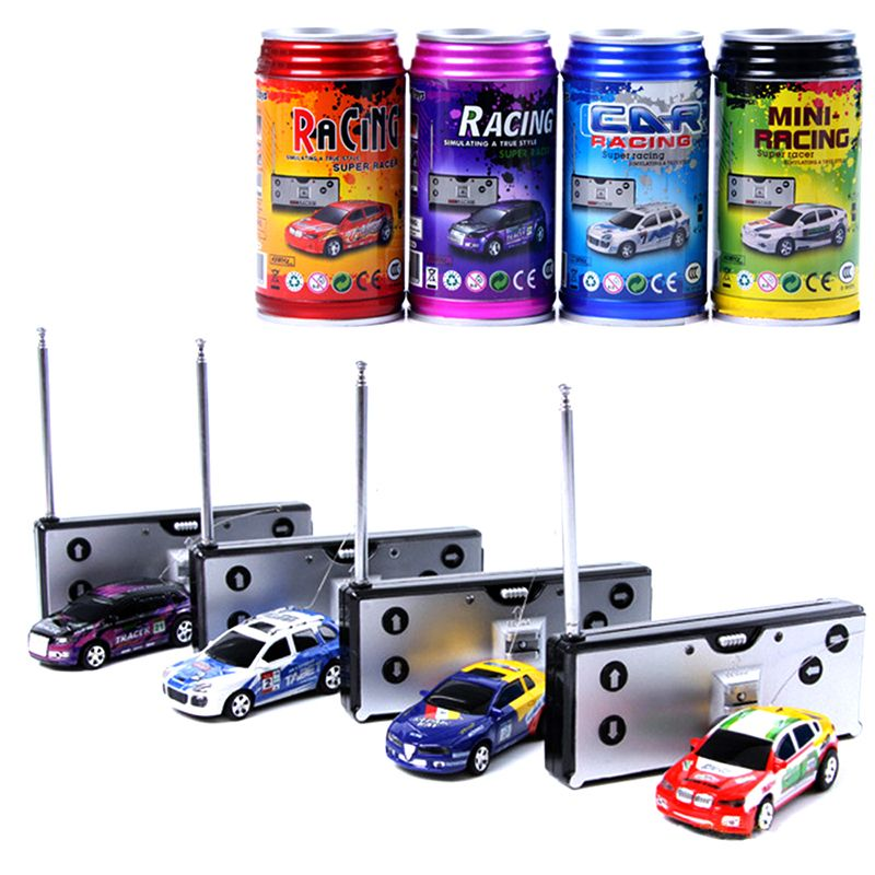 Colourful Mini Coke Can Rc Car Radio Remote Control Car Micro Racing Vehicle Electric Mini Toys For Kids Price 11 95 Free Shipping Rcboat