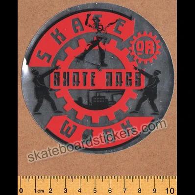 Skate Rags Old School Rare Vintage Skateboard Sticker In 2020 Vintage Skateboards Skateboard Stickers Skateboard