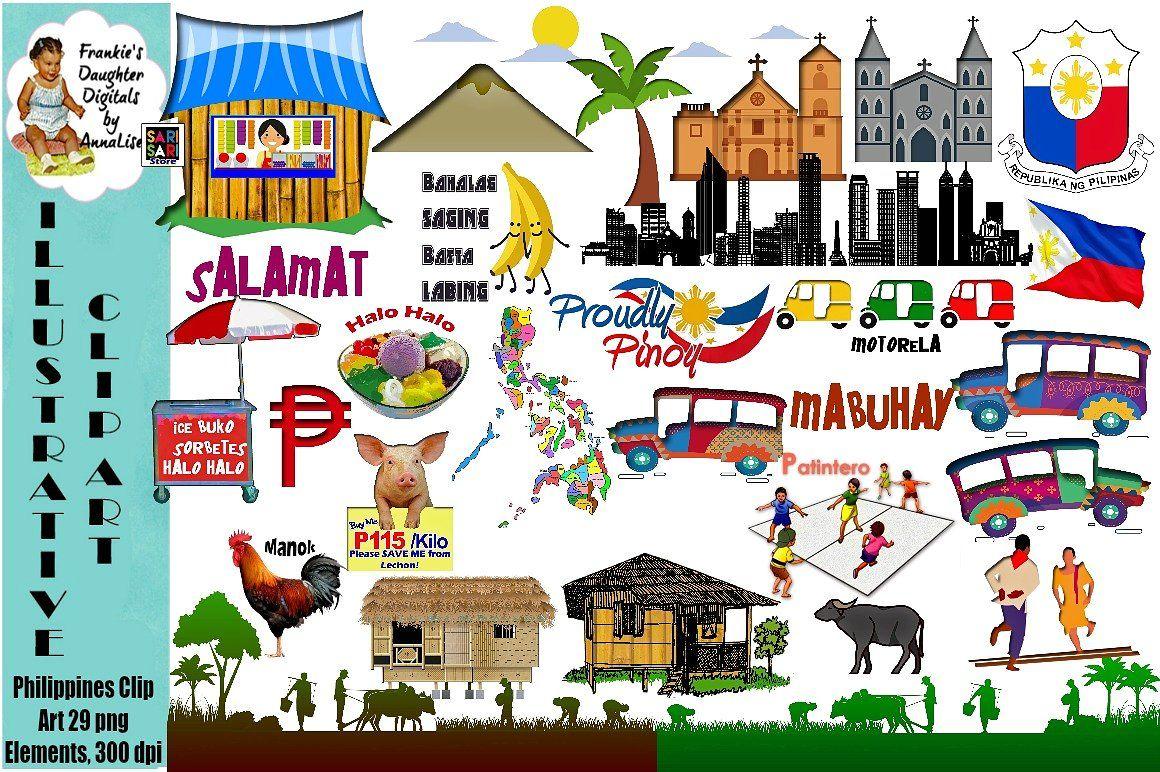 Philippines Clip Art Filipino Art Philippines Culture Filipino Culture