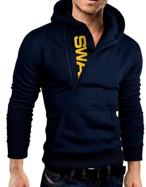 17ed361632d5 Men s Fleece Pullover Hoodie Sweatshirts   Products   Pinterest ...