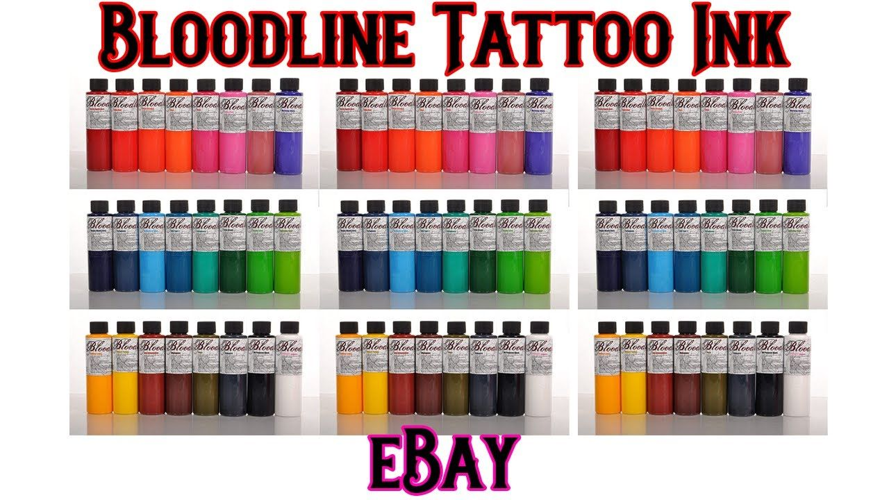 Bloodline Tattoo Ink By Skin Candy Review With Images Skin Candy Ink Tattoo Candy Review