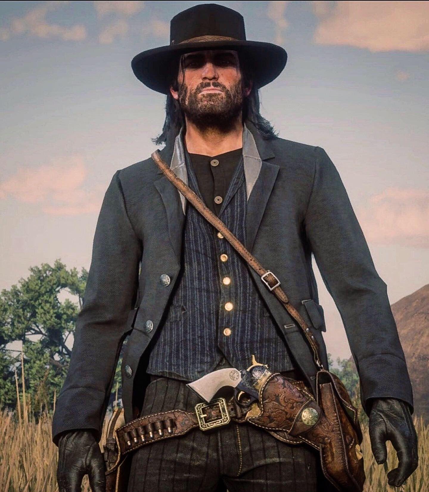 John Marston Inspired Red Dead Redemption Gun Belt