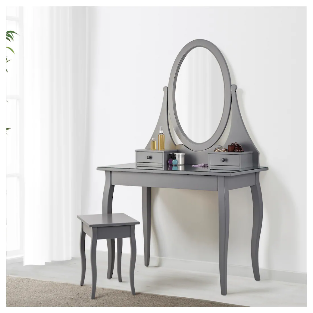 Hemnes Dressing Table With Mirror Grey Ikea Dressing Table Mirror Home Decor Hemnes