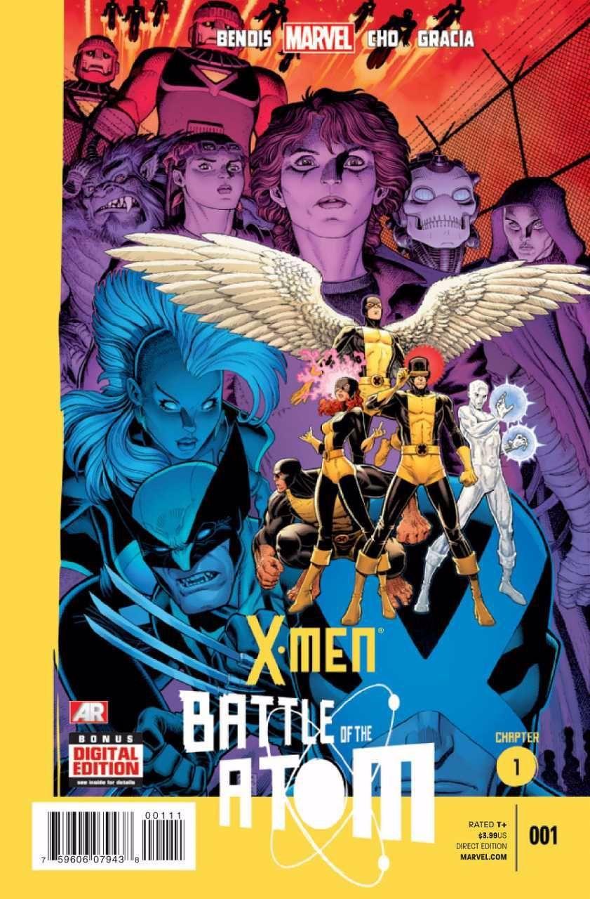 X Men Battle Of The Atom 1 Battle Of The Atom Chapter 1 Issue In 2020 X Men Marvel Xmen Marvel