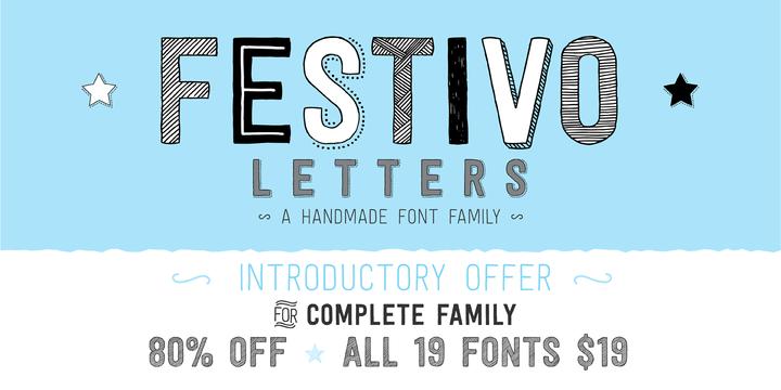 Festivo Letters  Webfont  Desktop Font  Myfonts  Fonts To Buy