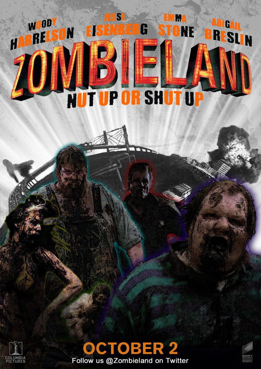 Zombieland 2nd Fan Poster By Alecx8 On Deviantart Zombieland