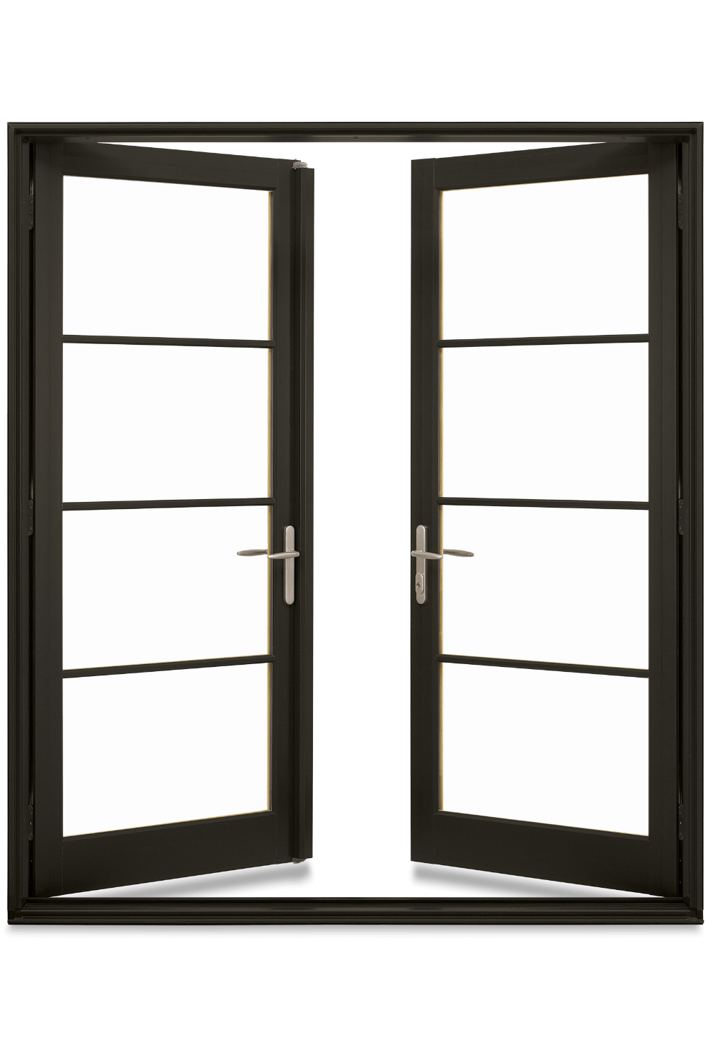 Wood Fiberglass Inswing Outswing French Doors Elevate Swinging