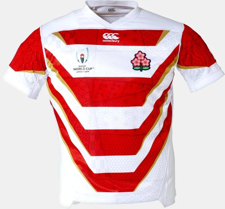 News Japan Rugby Reveal Samurai Inspired Rwc2019 Jerseys Rugby Shirt Watch Rugby Jersey Rugby Rugby Shirt