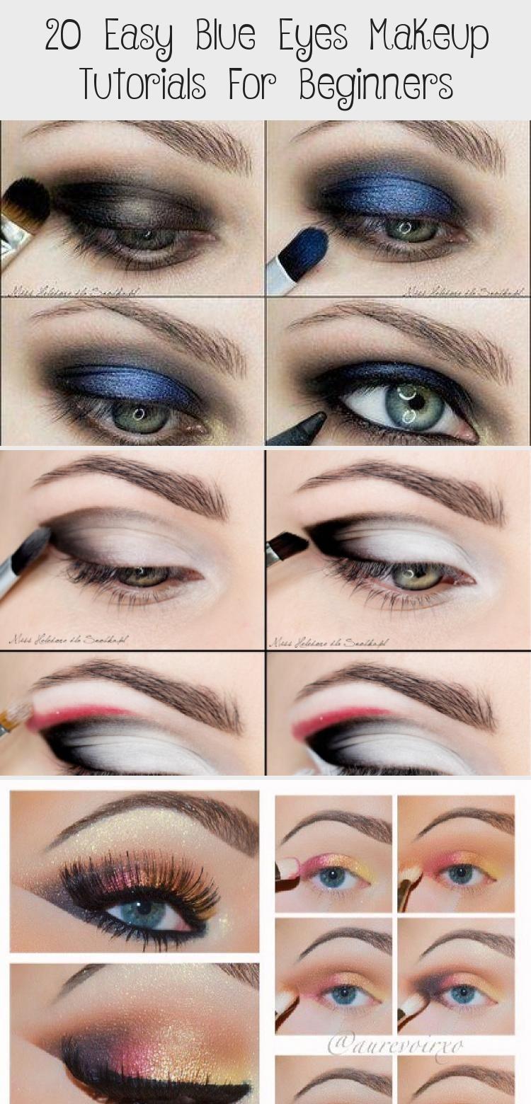 20 Easy Blue Eyes Makeup Tutorials For Beginners Eye