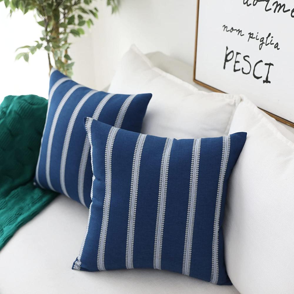 Home Brilliant Decorative Throw Pillow Covers Transitional Home Decor Striped Mode Decorative Throw Pillow Covers Throw Pillows Throw Pillow Covers