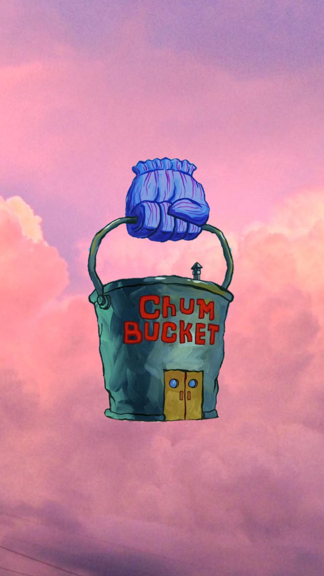 Vintage Aesthetic Spongebob Background